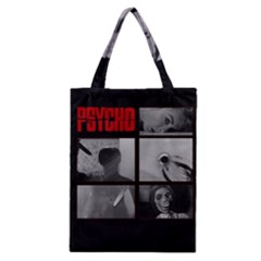 Psycho  Classic Tote Bag by Valentinaart