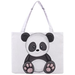 Cute Panda Mini Tote Bag by Valentinaart