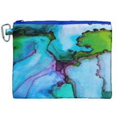 Abstract Painting Art Canvas Cosmetic Bag (xxl) by Celenk