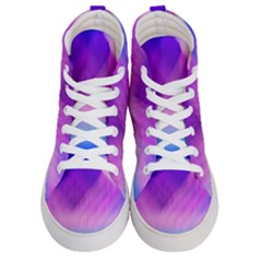 Background Art Abstract Watercolor Women s Hi Top Skate Sneakers