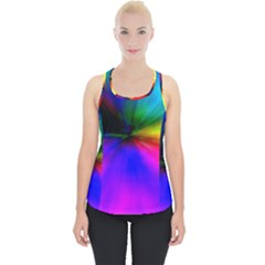 Creativity Abstract Alive Piece Up Tank Top