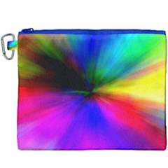 Creativity Abstract Alive Canvas Cosmetic Bag (xxxl) by Celenk