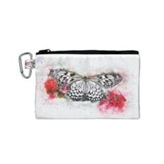 Butterfly Animal Insect Art Canvas Cosmetic Bag (small)