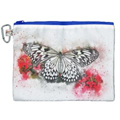Butterfly Animal Insect Art Canvas Cosmetic Bag (xxl) by Celenk