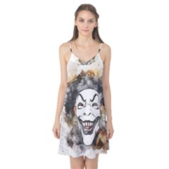 Mask Party Art Abstract Watercolor Camis Nightgown