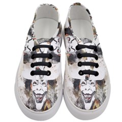 Mask Party Art Abstract Watercolor Women s Classic Low Top Sneakers
