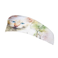 Cat Animal Art Abstract Watercolor Stretchable Headband