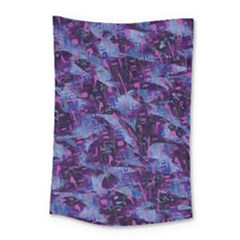 Techno Grunge Punk Small Tapestry