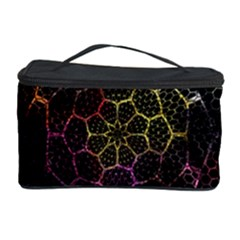 Background Grid Art Abstract Cosmetic Storage Case by Celenk