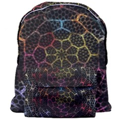 Background Grid Art Abstract Giant Full Print Backpack by Celenk