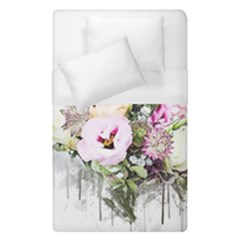Flowers Bouquet Art Abstract Duvet Cover (single Size)