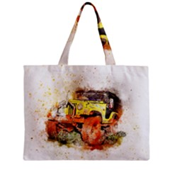 Car Old Car Fart Abstract Zipper Mini Tote Bag by Celenk