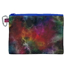 Abstract Picture Pattern Galaxy Canvas Cosmetic Bag (xl)