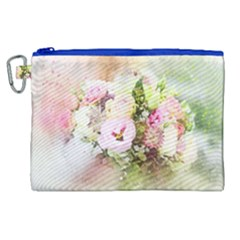 Flowers Bouquet Art Abstract Canvas Cosmetic Bag (xl) by Celenk