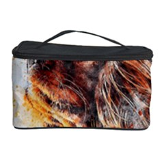 Dog Animal Pet Art Abstract Cosmetic Storage Case by Celenk