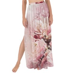 Flowers Bouquet Art Abstract Maxi Chiffon Tie Up Sarong