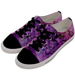 Flowers Spring Art Abstract Nature Men s Low Top Canvas Sneakers by Celenk