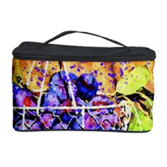 Fruit Plums Art Abstract Nature Cosmetic Storage Case by Celenk