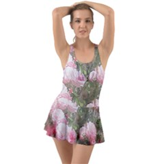 Flowers Roses Art Abstract Nature Swimsuit by Celenk