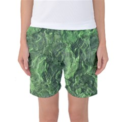 Geological Surface Background Women s Basketball Shorts