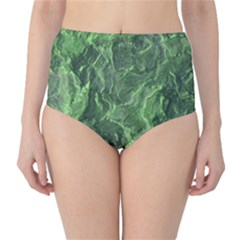 Geological Surface Background High Waist Bikini Bottoms