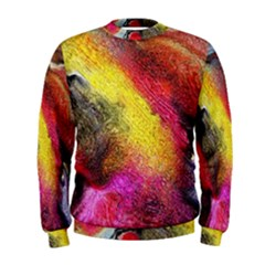 Background Art Abstract Watercolor Men s Sweatshirt