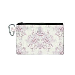 French Chic Canvas Cosmetic Bag (small)