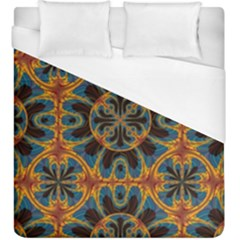 Tapestry Pattern Duvet Cover (king Size) by linceazul