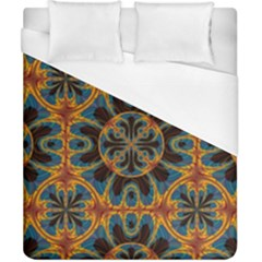Tapestry Pattern Duvet Cover (california King Size) by linceazul