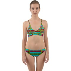 Gift Wrappers For Body And Soul Wrap Around Bikini Set