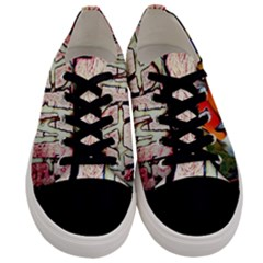 A Me? Men s Low Top Canvas Sneakers