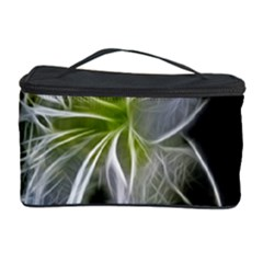 White Lily Flower Nature Beauty Cosmetic Storage Case by Celenk