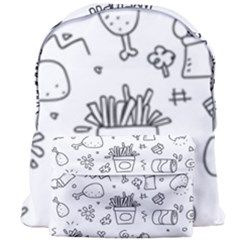 Set Chalk Out Scribble Collection Giant Full Print Backpack