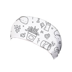 Set Chalk Out Scribble Collection Yoga Headband
