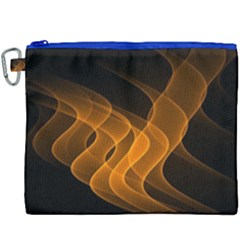 Background Light Glow Abstract Art Canvas Cosmetic Bag (xxxl) by Celenk