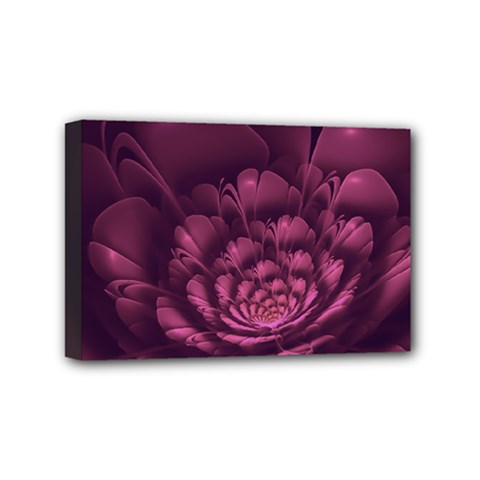 Fractal Blossom Flower Bloom Mini Canvas 6  X 4  by Celenk