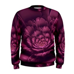 Fractal Blossom Flower Bloom Men s Sweatshirt