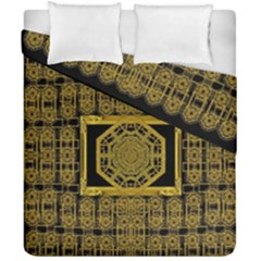 Beautiful Stars Would Be In Gold Frames Duvet Cover Double Side (california King Size)