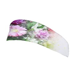 Flowers Roses Bouquet Art Nature Stretchable Headband