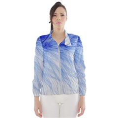 Spring Blue Colored Wind Breaker (women)