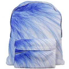 Spring Blue Colored Giant Full Print Backpack