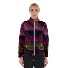 Fractal Abstract Colorful Floral Winterwear