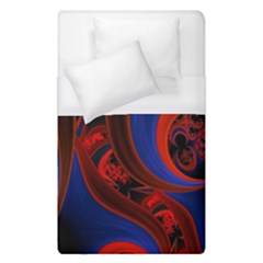 Fractal Abstract Pattern Circles Duvet Cover (single Size) by Celenk