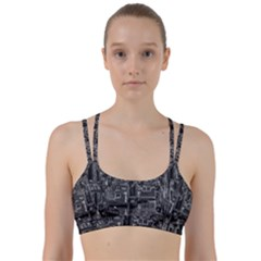 Venice Italy Gondola Boat Canal Line Them Up Sports Bra by Celenk