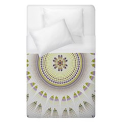 Mandala Fractal Decorative Duvet Cover (single Size) by Celenk