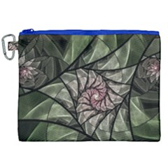 Fractal Flowers Floral Fractal Art Canvas Cosmetic Bag (xxl) by Celenk