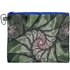 Fractal Flowers Floral Fractal Art Canvas Cosmetic Bag (xxxl) by Celenk