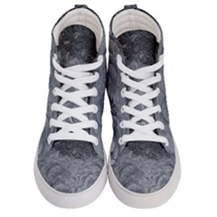 Abstract Art Decoration Design Women s Hi Top Skate Sneakers