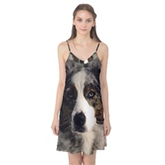 Dog Pet Art Abstract Vintage Camis Nightgown