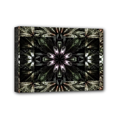 Fractal Design Pattern Texture Mini Canvas 7  X 5  by Celenk